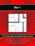 Modern Floor Plans - Bar 1
