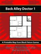 Modern Floor Plans - Back Alley Doctor 1