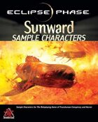 Eclipse Phase: Sunward Sample Characters (first edition)