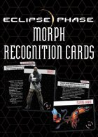 Eclipse Phase: Morph Recognition Cards
