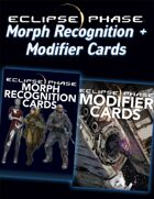 Eclipse Phase: Morph + Modifier Cards [BUNDLE]