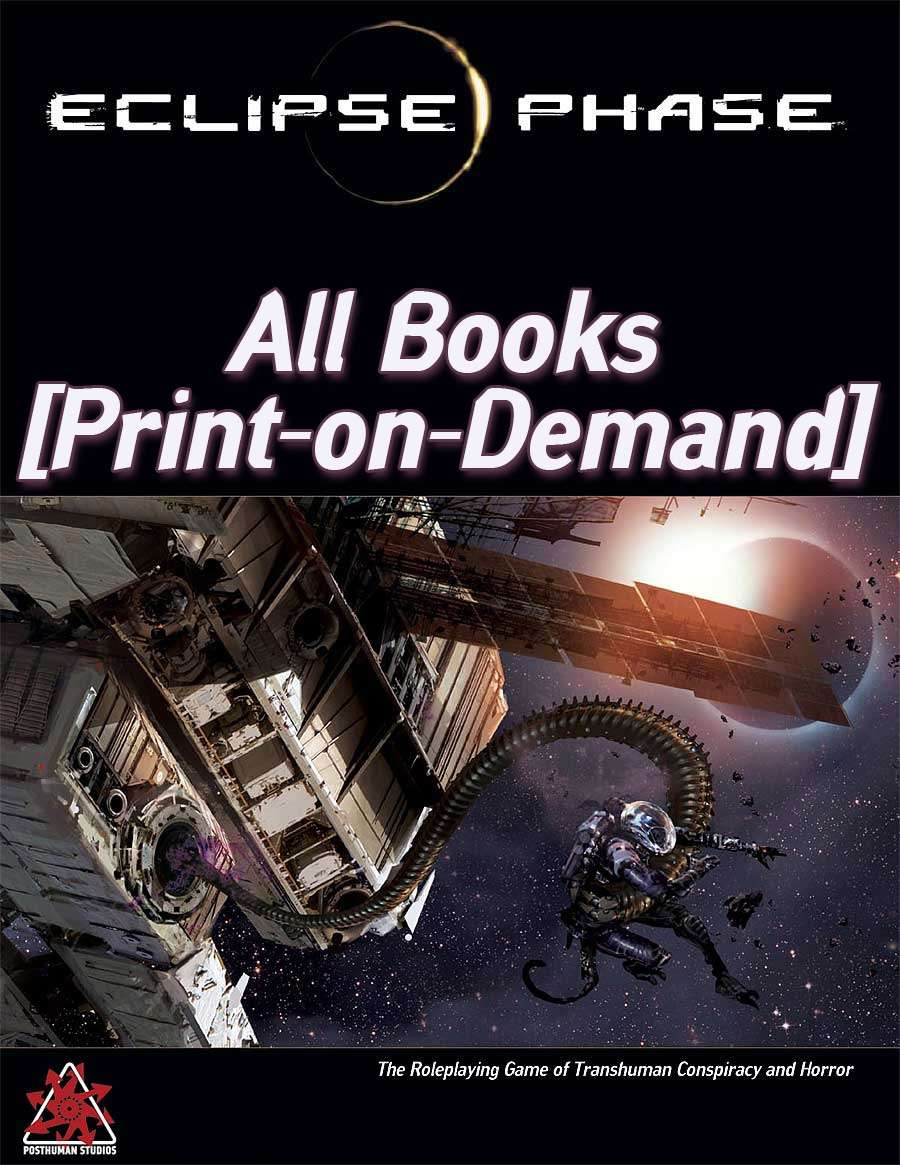 Eclipse Phase: All POD Books [BUNDLE]