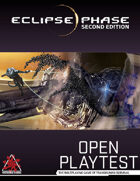 Eclipse Phase, Second Edition (Open Playtest)
