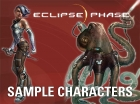 Eclipse Phase Sample Characters (iPad)