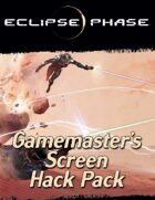 Eclipse Phase: Gamemaster's Screen Hack Pack