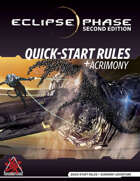 Eclipse Phase Second Edition: Quick-Start Rules