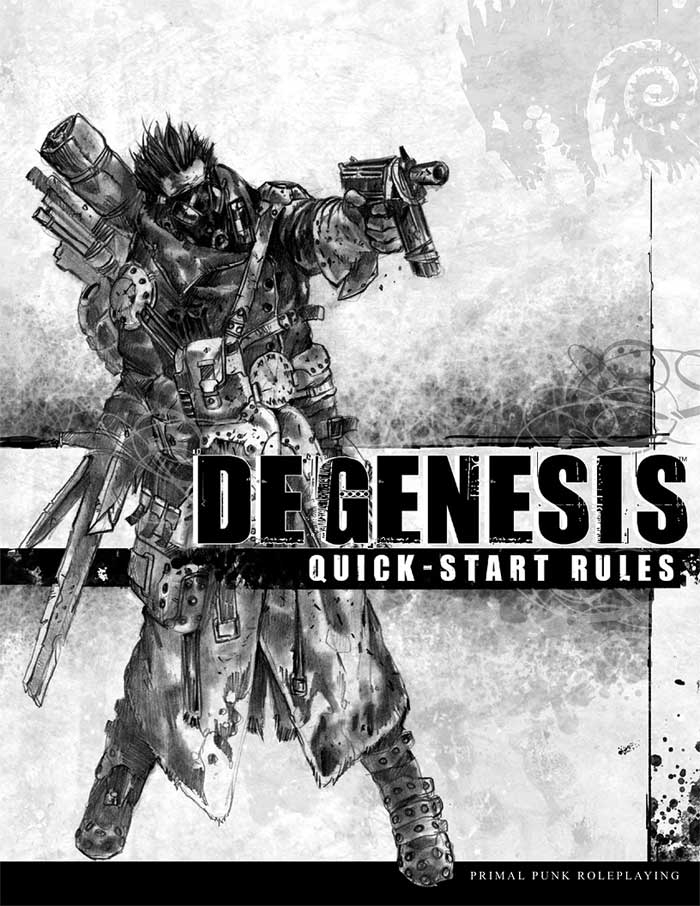 Degenesis Quick-Start Rules