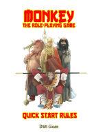 Monkey The RPG Quickstart Rules