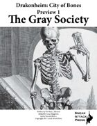 Drakonheim Preview 1: The Gray Society