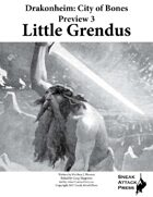 Drakonheim Preview 3: Little Grendus