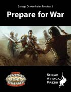 Savage Drakonheim Preview 3: Prepare for War