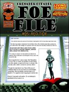 Foe File 05: Red Tide