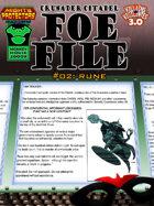 Foe File 02: Rune