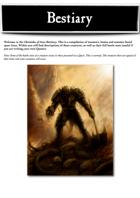 Chronicles of Arax - Bestiary