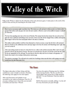 Chronicles of Arax - Valley of the Witch