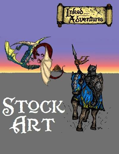 Inked Adventures Stock Art Cover Art
