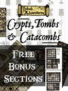 Free Bonus Cut-Up Sections for Crypts, Tombs & Catacombs