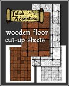 Wooden Floor Cut-Up Sheets (Inked Adventures)
