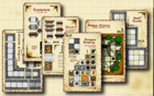 Inked Adventures : Modular Dungeon Cut-Up Sections –Sample Pack