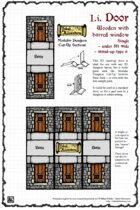 Inked Adventures: Small Dungeon Door