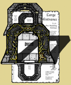 Inked Adventures: Large Dungeon Entrance