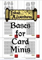 Inked Adventures: Cut Out Bases for Card Minis - Flagstone