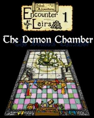 Inked Adventures Encounter Lairs 1 The Demon Chamber