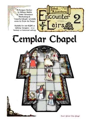 Inked Adventures Encounter Lairs 2 Templar Chapel