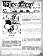 Wor-Born #1: Atlanteans (Swords & Wizardry)