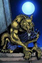 Werewolf blue print