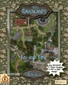 "The Ravenlands Bundle 2: Inn and Mine (1"" square = 5')"