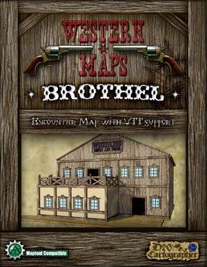 Western Maps: Brothel Map Pack