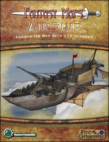 Fantasy Maps: Airship