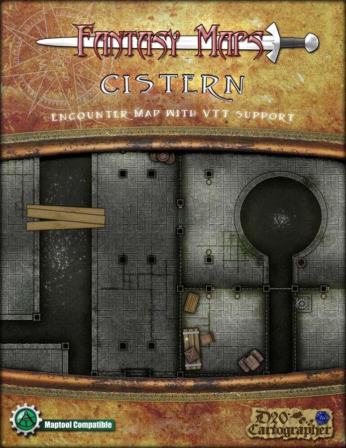 Fantasy Map - Cistern