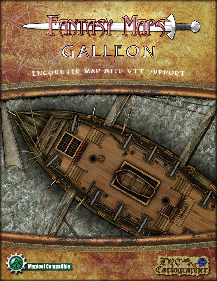 Fantasy Maps: Galleon
