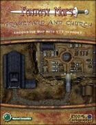 Fantasy Maps: Graveyard and Church Map Pack