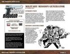 Modern Dispatch (#79): Military Mission Generator