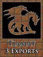 Tiamat 3 Map Exports