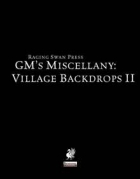 GM's Miscellany: Village Backdrops II