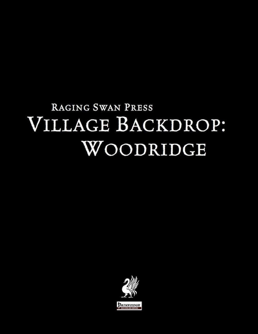 Village Backdrop: Woodridge