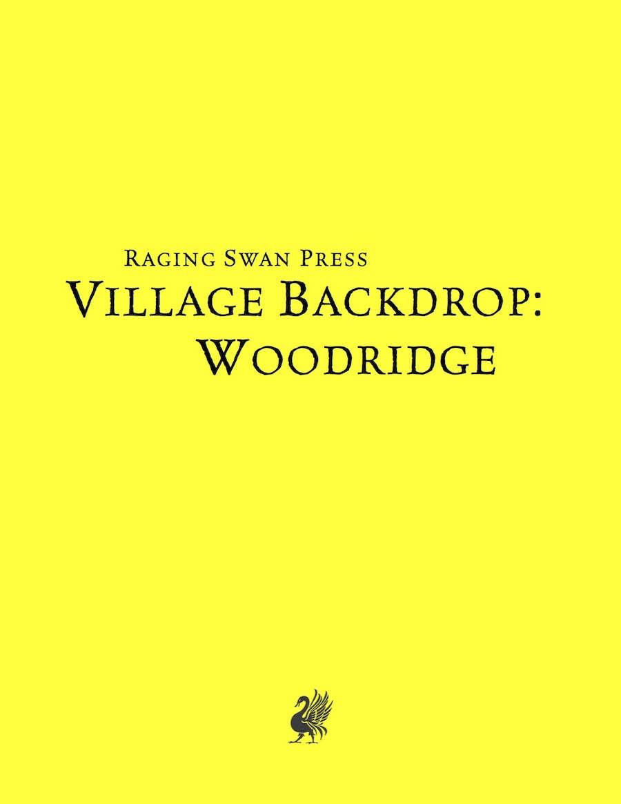 Village Backdrop: Woodridge System Neutral Edition