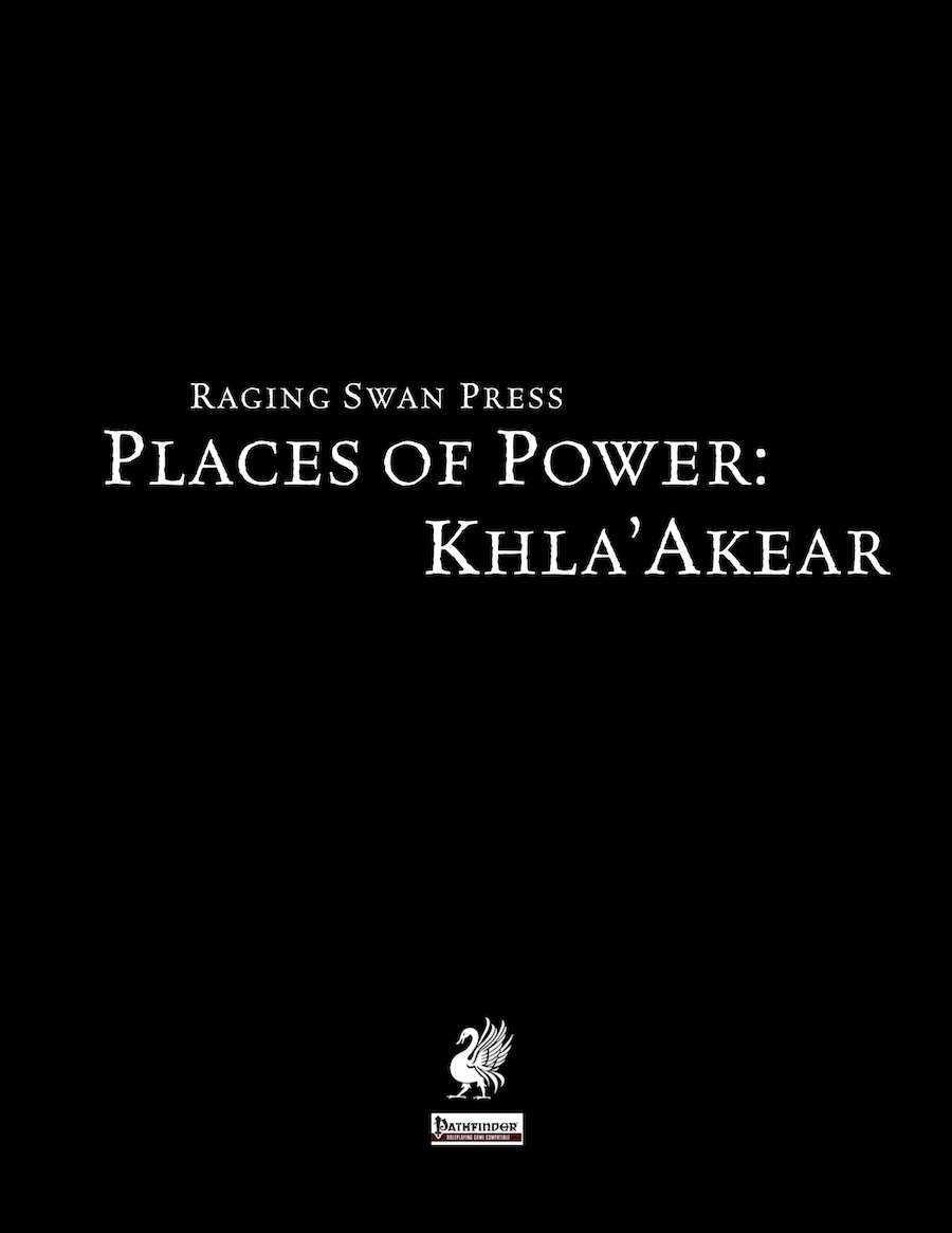Places of Power: Khla'Akear