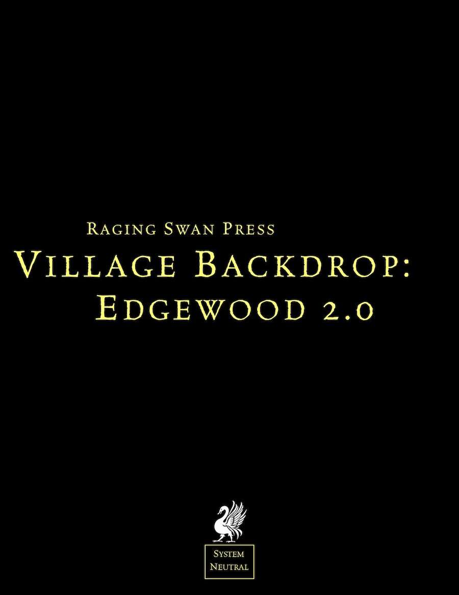 Village Backdrop: Edgewood (SN) 2.0