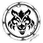 Stock Art Shields: Wolf's Head