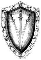 Stock Art Shields: Swords