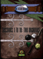 One Session Dungeons: The Archives [BUNDLE]