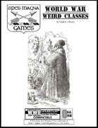 World War Weird Classes