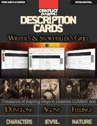 Descriptions Cards - Writer's and Storyteller's GRID