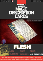 Magic Description Cards: FLESH MAGIC