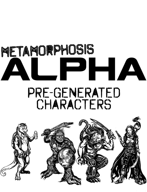 Metamorphosis Alpha RPG - Pre-Generated Characters - Signal Fire